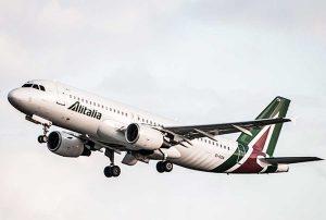 Alitalia - Un aereo