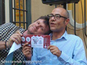 Teatro Caffeina, la lotteria per la riapertura - Filippo Rossi e Andrea Baffo