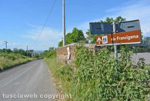 La via Francigena al Quartuccio