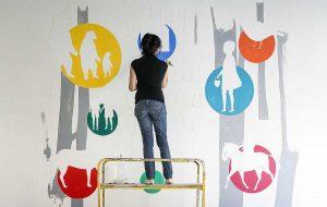 Murales Arci alla De Amicis
