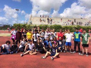 Tarquinia - Campionati studenteschi di atletica leggera per la categoria ragazzi