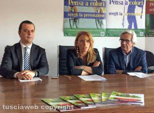 Antonio Bray, Daniela Donetti e Luciano Pompei