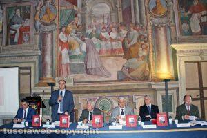 """""""Viterbo e i suoi pompieri"""" - La presentazione del libro in sala Regia"""