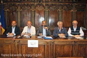 Luigi Ottavio Mechelli, Marco Ciorba, Rodolfo Valentino, Massimo Mecarini e Paolo Moricoli