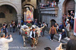 Viterbo - La processione del santissimo Salvatore