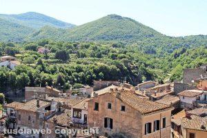 Bagnaia - Vista dalla torre di Bagnaia