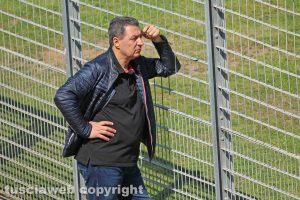 Viterbo - Giulio Marini allo stadio Rocchi