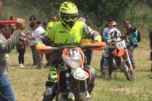 Sport - Motori - Il campionato di enduro a Graffignano