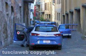 Viterbo - Polizia nel centro storico