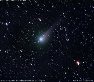 La cometa Johnson