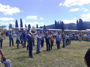 Tarquinia - Festa della Merca - La banda Giacomo Setaccioli