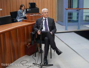 Maxiprocesso Asl - Gianluca Dell'Agnello, ex comandante provinciale dei carabinieri, in tribunale
