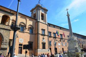 Tarquinia - Il palazzo comunale
