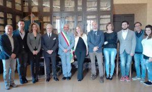 Caprarola - Il prefetto D'Angelo in visita a l comune