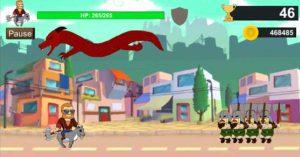 Un'immagine del gioco Goat Rider