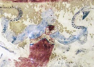 Tarquinia - La Tomba dei demoni azzurri