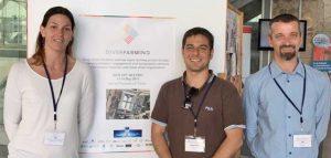Cartagena - I tre ricercatori Unitus Barbara Pancino, Tommaso Chiti, Emanuele Blasi