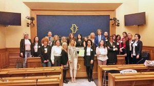 Roma - Dipartimento tutela vittima - La conferenza con Giorgia Meloni