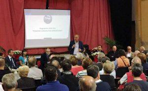 L'incontro di presentazione della lista per Duranti sindaco