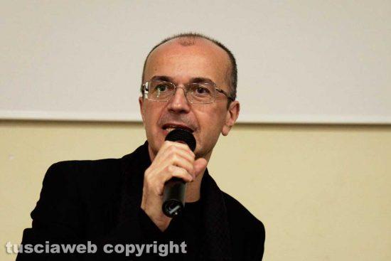 Luca Damiani, dirigente scolastico dell'istituto tecnico tecnologico Leonardo da Vinci di Viterbo