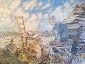 Montalto di Castro - La mostra del pittore Fiore Cagnetti