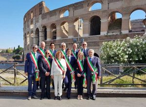Festa della Repubblica - Sindaci della Tuscia a Roma