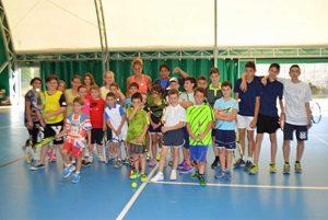 Sport - Tennis - La festa di fine corsi alla polisportiva Ischia di Castro