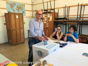 Tarquinia - Mauro Mazzola al voto
