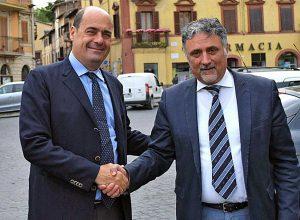 Ronciglione - Nicola Zingaretti e Alessandro Giovagnoli