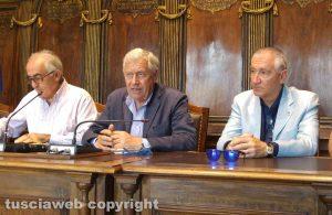 Alvaro Ricci, Leonardo Michelini e Livio Treta