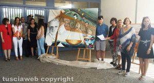 """L'opera degli studenti dell'artistico """"Orioli"""""""