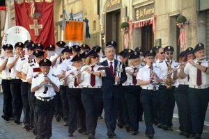 Tarquinia - Festa della Repubblica - La banda Giacomo Setaccioli