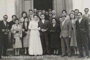 Il matrimonio Mazzi - Scipinotti a San Michele in Teverina