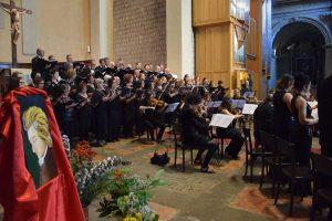 Il concerto delle corali polifoniche nella chiesa della Verità