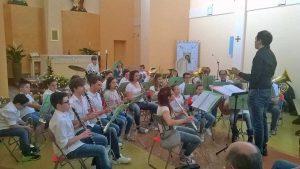 La Junior band C.B.O.P. di Vetralla