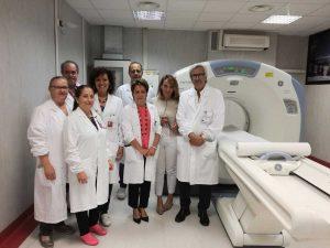 Viterbo - La nuova Tac di Radioterapia a Belcolle