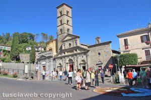 Bolsena - la basilica di santa Cristina