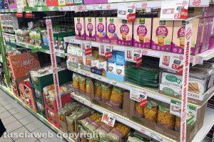 Viterbo - I prodotti senza glutine al Todis