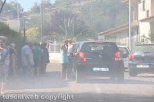 Viterbo - Vastissimo incendio a Sant'Angelo di Roccalvecce - Evacuato il paese