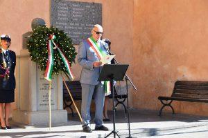 Tarquinia - Festa della Repubblica - Il sindaco Mazzola ricorda Domenico Emanuelli