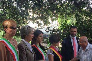 La cerimonia di commemorazione di Giacomo Matteotti