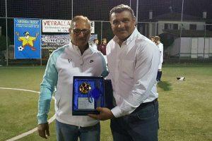 Sport - Calcio a 5 - Angelo Peruzzi al memorial Andrea Testa