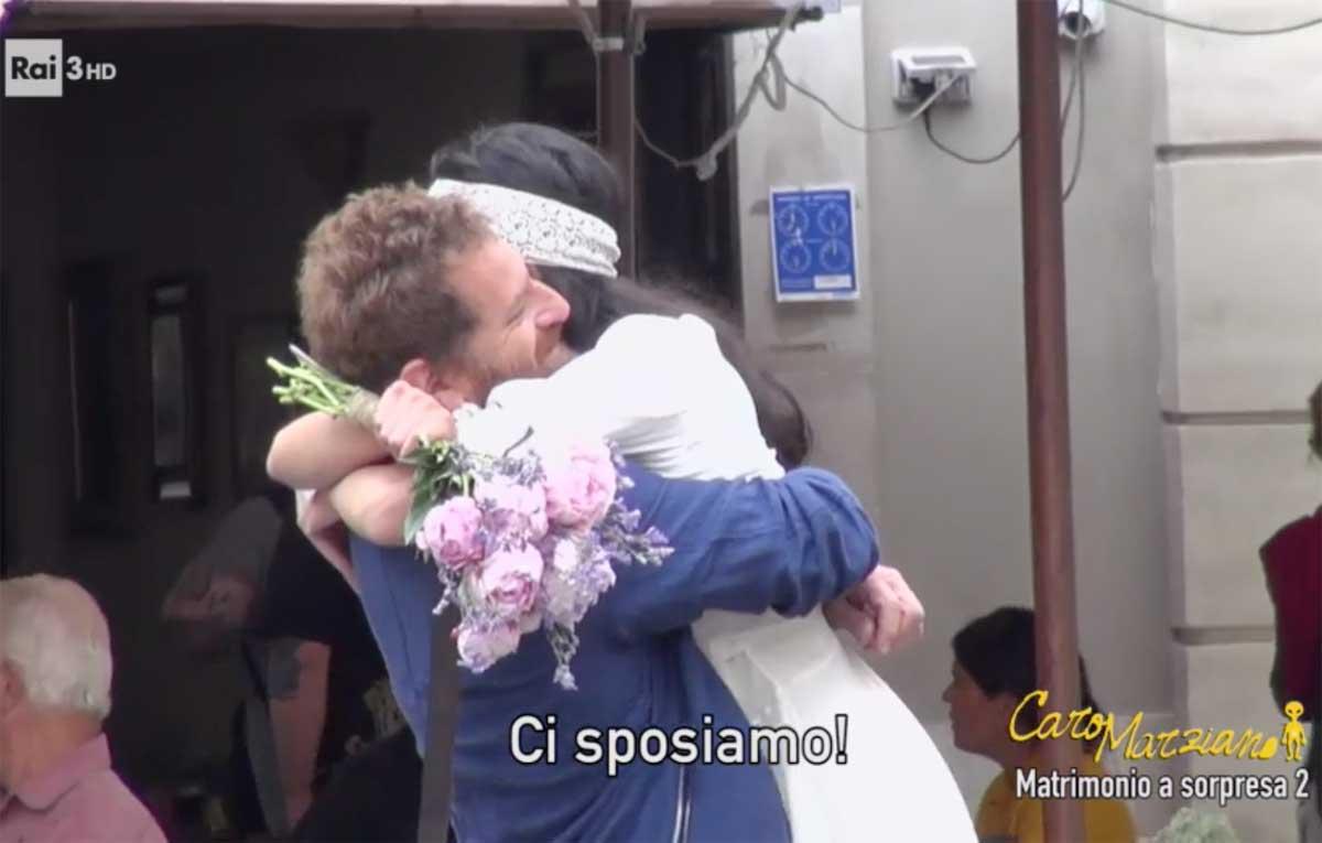 Preferenza Matrimonio a sorpresa per Davide Dormino - Tusciaweb.eu MH81