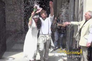 Matrimonio a sorpresa per Davide Dormino -su Rai3