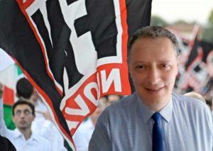 Luigi Pellegrini, segretario provinciale Forza nuova Viterbo