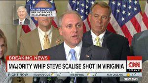 Usa - Sparatoria in Virginia - Il deputato repubblicano Steve Scalise ferito