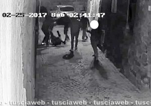 Viterbo - Branco massacra giovane nel centro storico