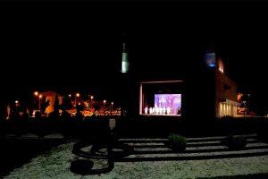 Montalto di Castro - L'arena esterna del teatro Lea Padovani