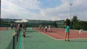 San Lorenzo Nuovo - Inaugurazione del Tennis club