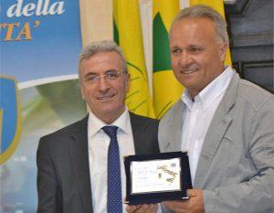 La premiazione dell'olio di Vetralla a Lecce